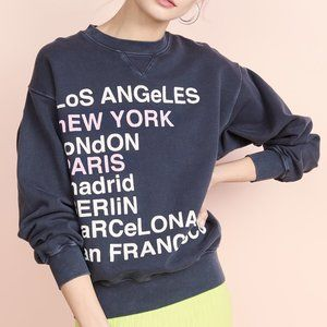 Anine Bing City Love Sweatshirt xs